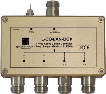 L Band 4 Way Active Combiner